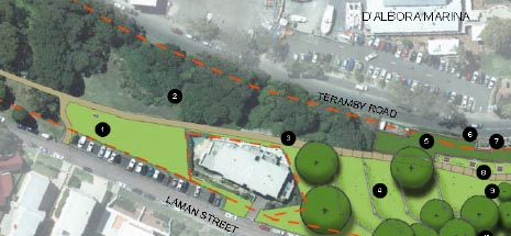 Image of Apex Park master plan