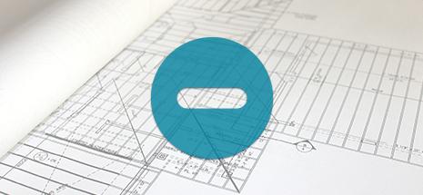 block icon over blueprints