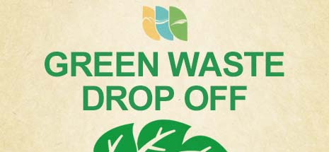 Green Waste drop off landing