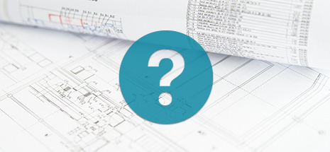 question icon over blueprints