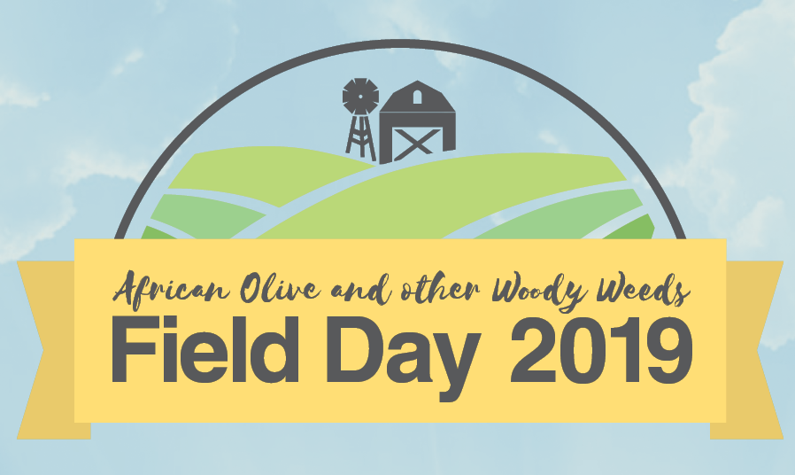 African Olive & Woody Weeds Field Day 2019 Banner