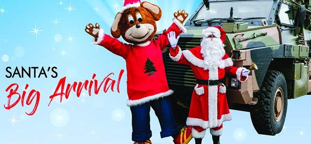 Santas Big Arrival