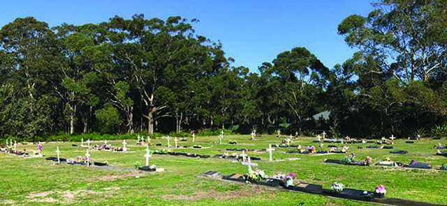 Image of Anna Bay Cemetery