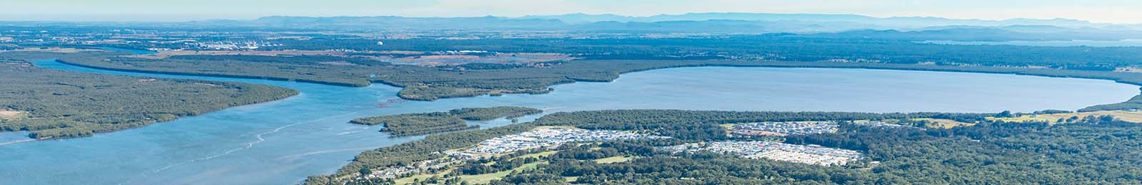 Image of Port Stephens foreshore
