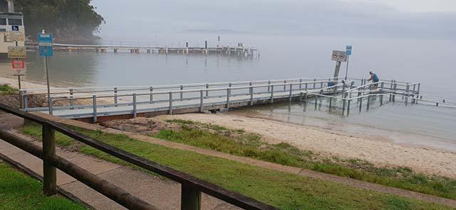 Little beach reserve wharf 3