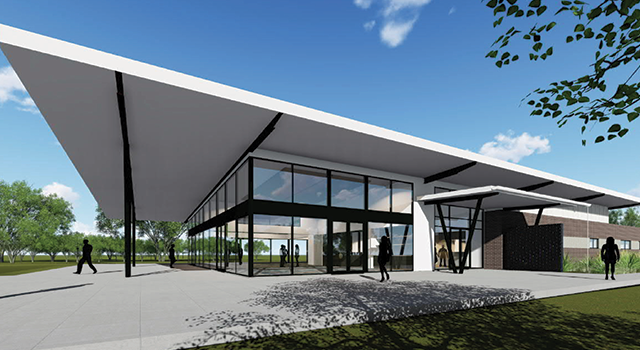 Artists impression of Medowie Sports and Community Facility