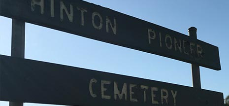 Image of Hinton historical cemetery