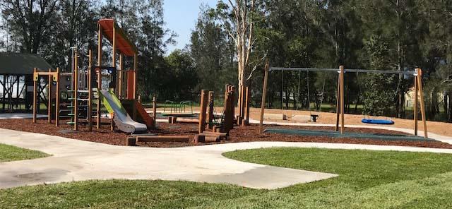 Caswell reserve playground