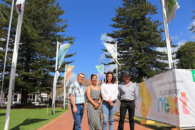 Walk of Art unveiled in Nelson Bay