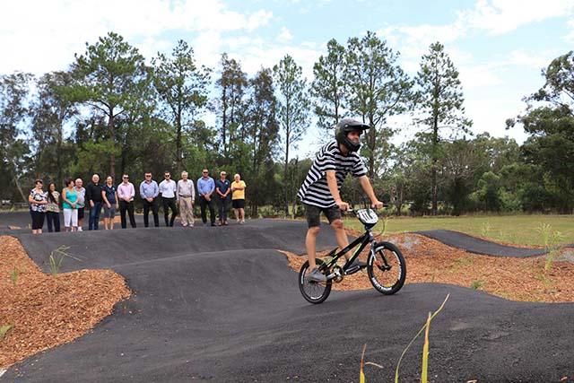 Salt Ash Bike Track