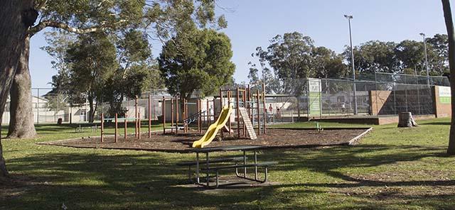 Image of Spencer Park playground equipment