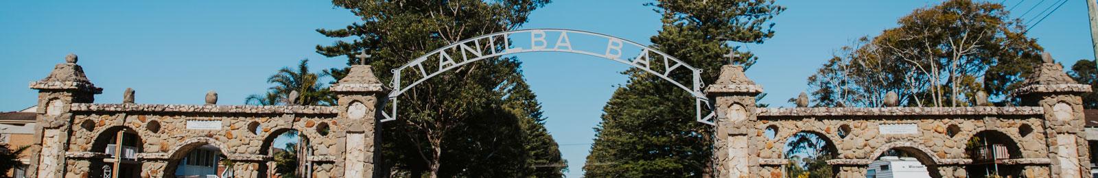 Tanilba Bay's Centenary Gate