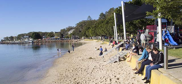 Nelson Bay Foreshore image