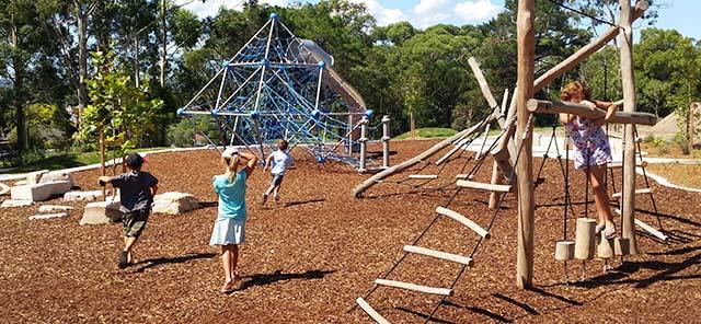 Boomerang park playground image
