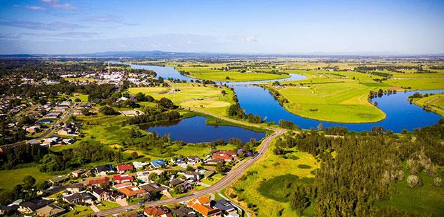 Ariel image of Port Stephens