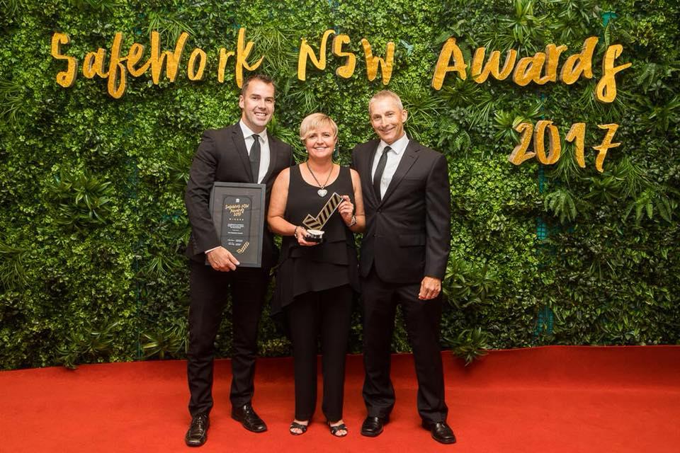 2017 SafeWork NSW Awards