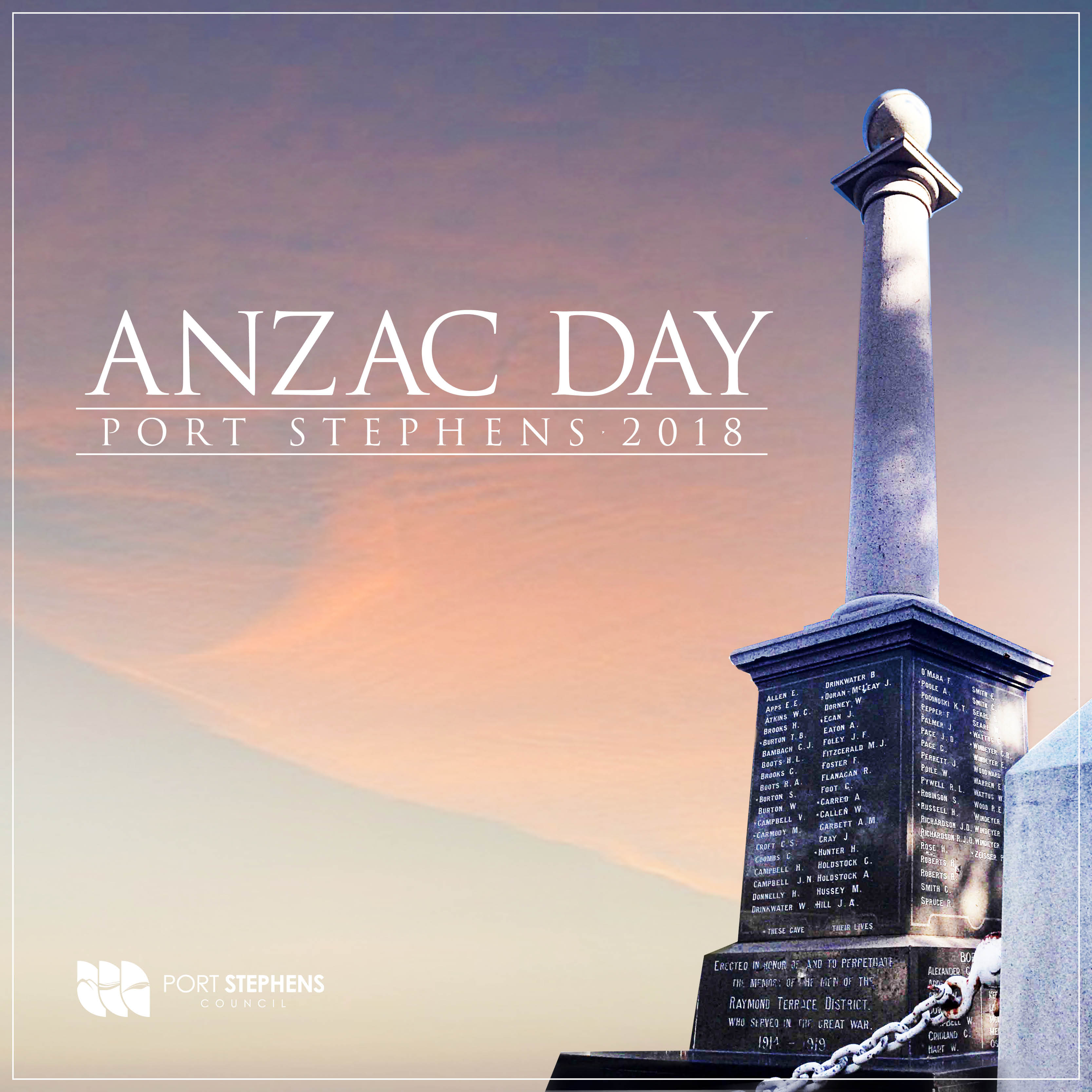 ANZAC Day In Port Stephens 2018