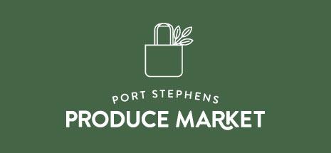 Port Stephens Produce Market green logo