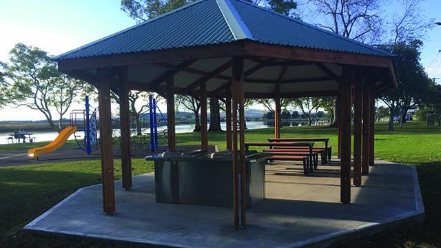Image of Riverside Park BBQ area