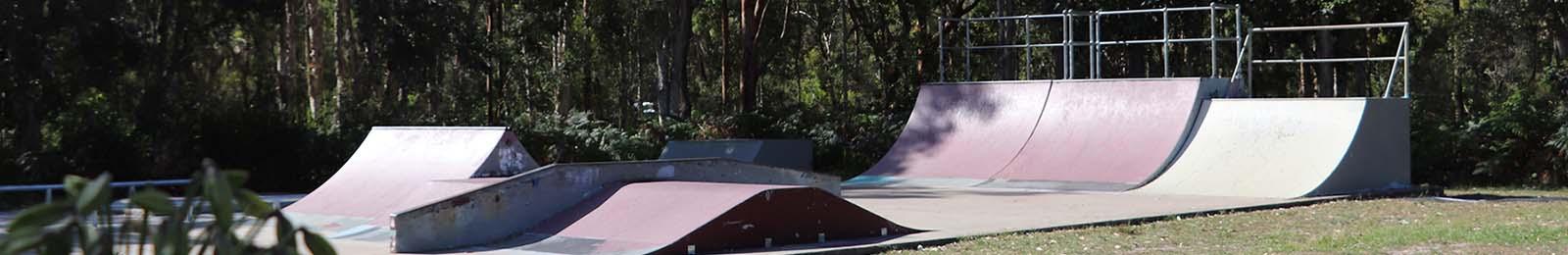 Mallabula skate park top