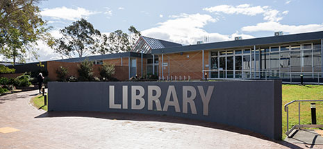 View of Raymond Terrace Library from outside
