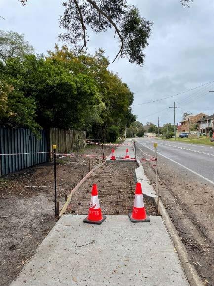 Lemon Tree Passage shared pathway, 18 October