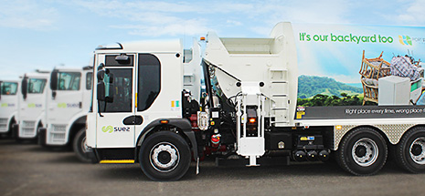 Port Stephens garbage trucks