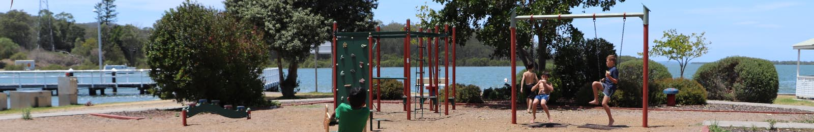 Image of a playground in Port Stephens