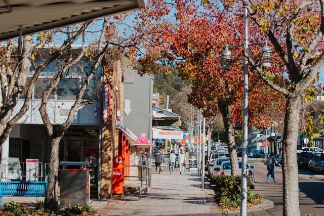 Nelson Bay street parking