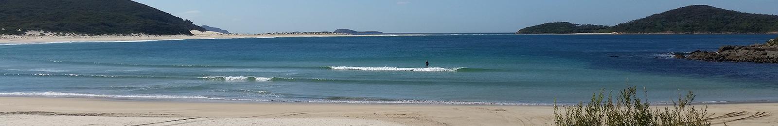 Fingal Bay banner image