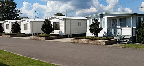 Manufactured Home Estates and Caravan Parks landing