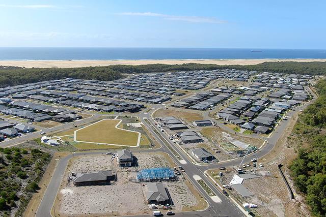 New housing development in Port Stephens