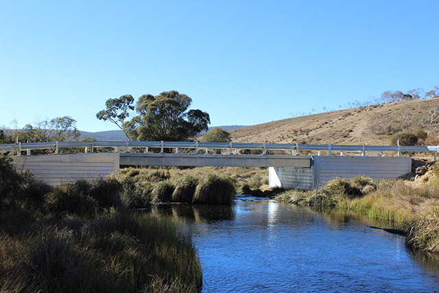 An example of an InQuik bridge, like the one to be installed at Foreshore Drive in Corlette.